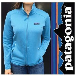 Patagonia Tech Fleece Zip-Up in Catalyst Blue, Med
